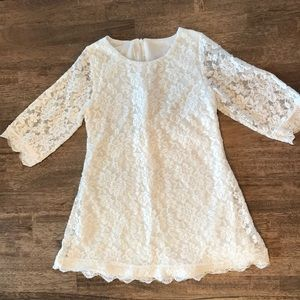 Other - 🍭3/$23 White Lace Dress